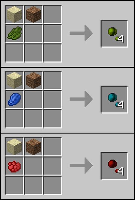 opciones para decocraft